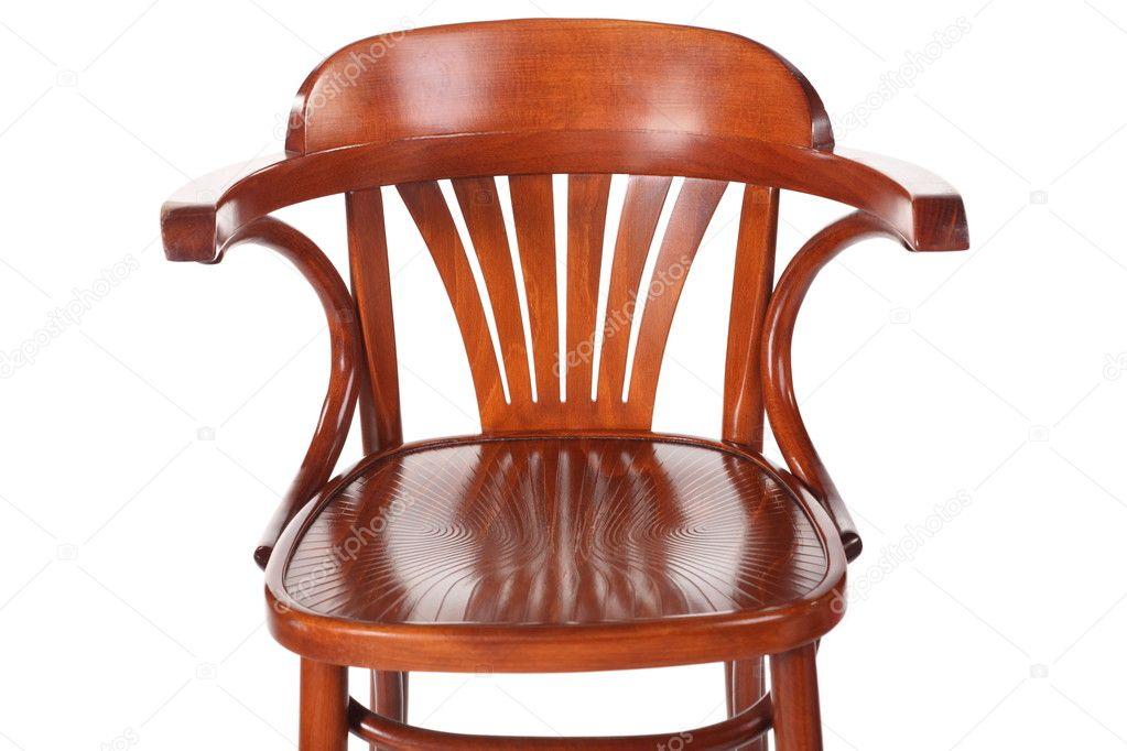 Ouderwetse Houten Kinderstoel.Enkele Oude Houten Kinderstoel Stockfoto C Paha L 7937951