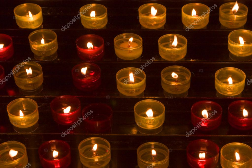 Long numbers of candles