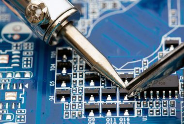 Repair of electronic components
