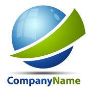 Fotografia logo astratto 3D
