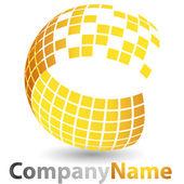 3D abstraktní logo
