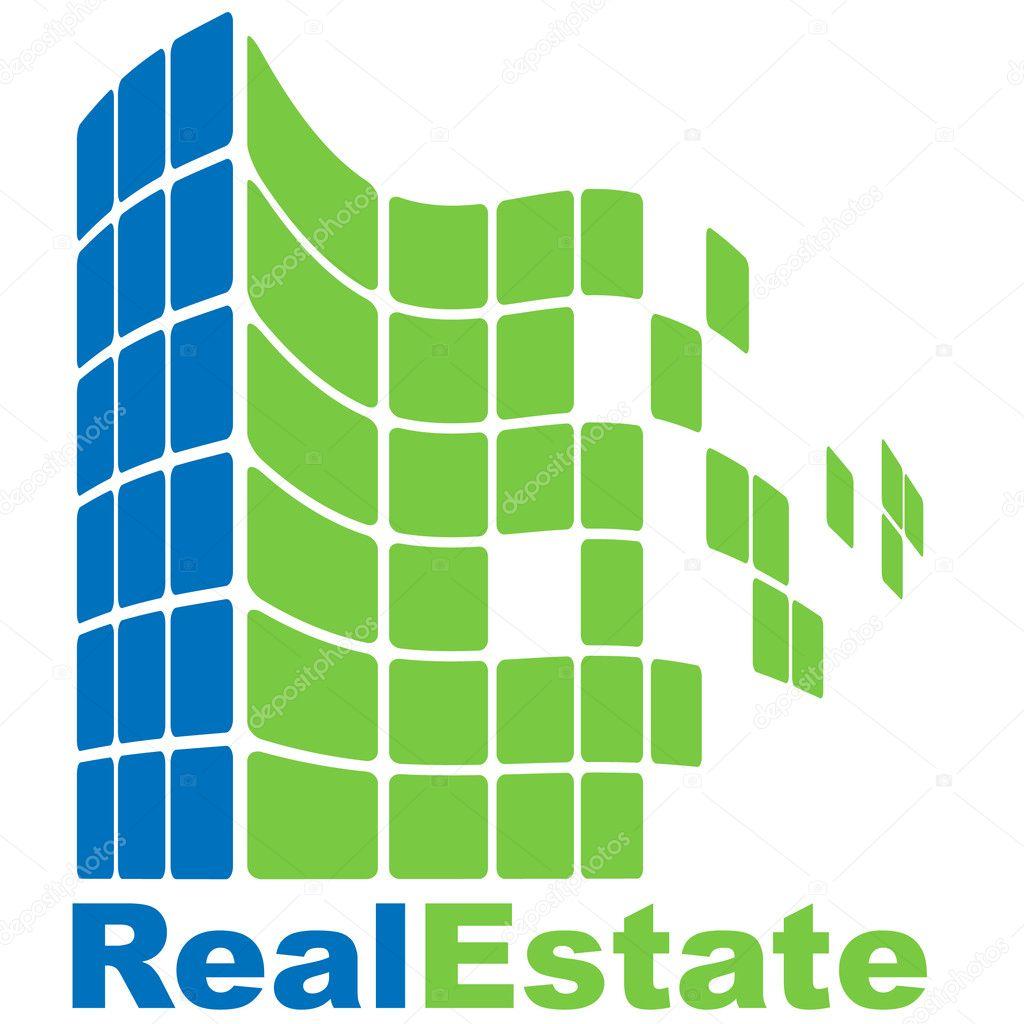Real Estate logo — Stock Vector © Yuriy_Vlasenko #7921267