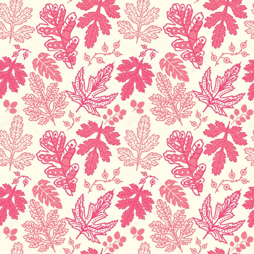 Leaf Pattern Wallpaper Patterns Gallery