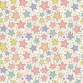 Fényképek színes csillagok zökkenőmentes minta