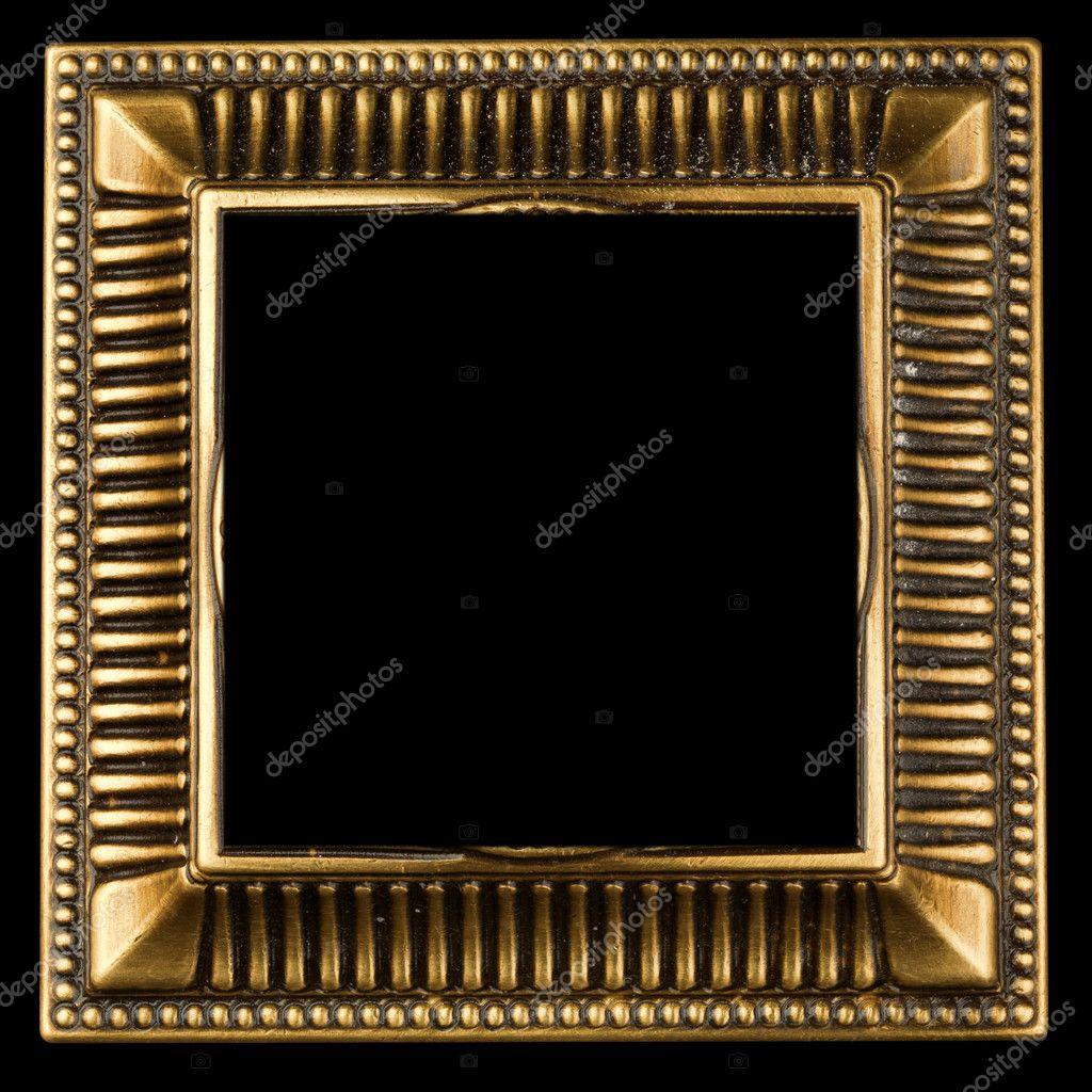 marco adornado de oro Vintage — Fotos de Stock © smaglov #7676013