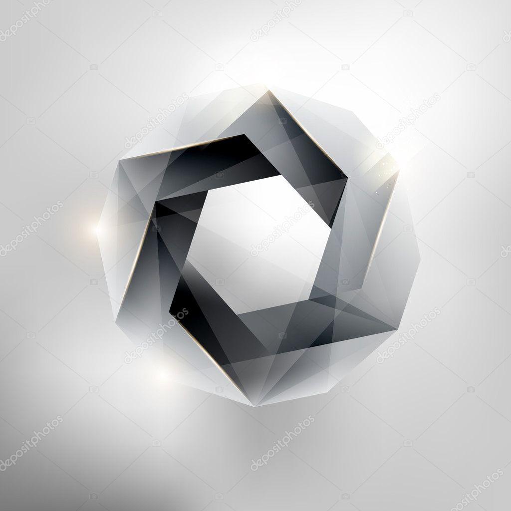 forme g om trique abstraite image vectorielle theromb 7555469. Black Bedroom Furniture Sets. Home Design Ideas