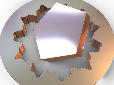 Three-dimensional figure