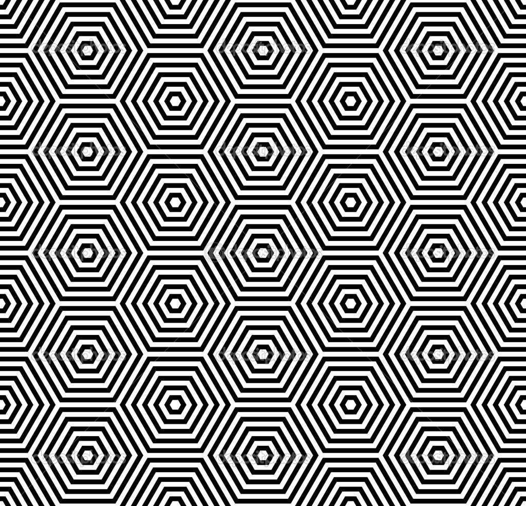 Hexagons texture. Seamless geometric pattern. — Stock