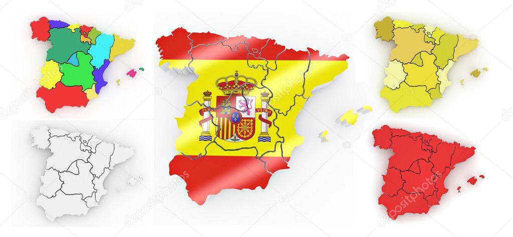 Cartina Spagna Politica E Fisica.Foto Cartina Fisica Spagna Immagini Cartina Fisica Spagna Da Scaricare Foto Stock Depositphotos