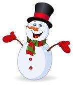 Veselý sněhulák
