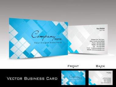 mosaic pattern background visiting card