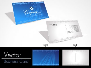 Business card - vector