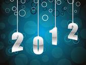Elegantní design přání 2012 oslavu
