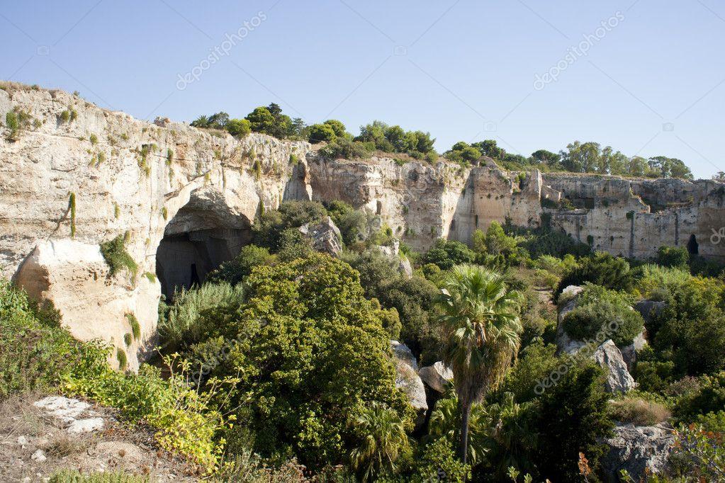 Cave, Neapolis in Syracuse - Sicily