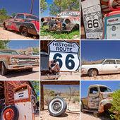 Fotografie Route 66 collage