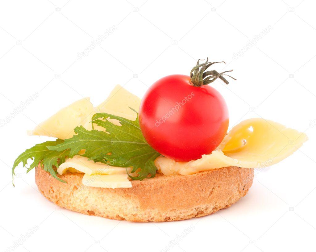 картинка бутерброд с сыром на белом фоне реалистичные