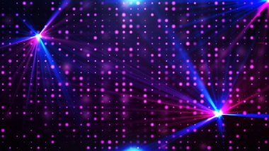 Purple disco lights background
