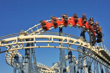 Roller coaster loop.