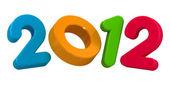 šťastný nový rok 2012 zpráva