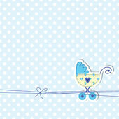Photo Baby arrival card