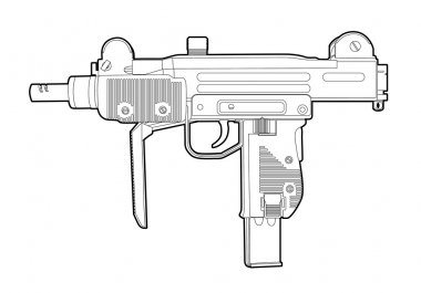 Outline uzi