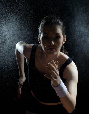 Girl in sport
