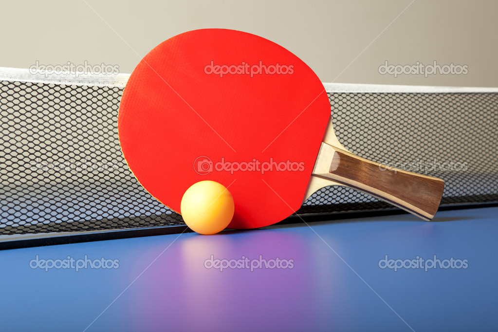 raquettes de ping pong tennis de table ou ping photographie andreyuu 7510876. Black Bedroom Furniture Sets. Home Design Ideas