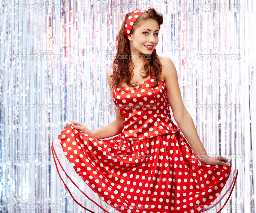 Pin up girl american style stock photo zoomteam 6766475 - Pin up style ...