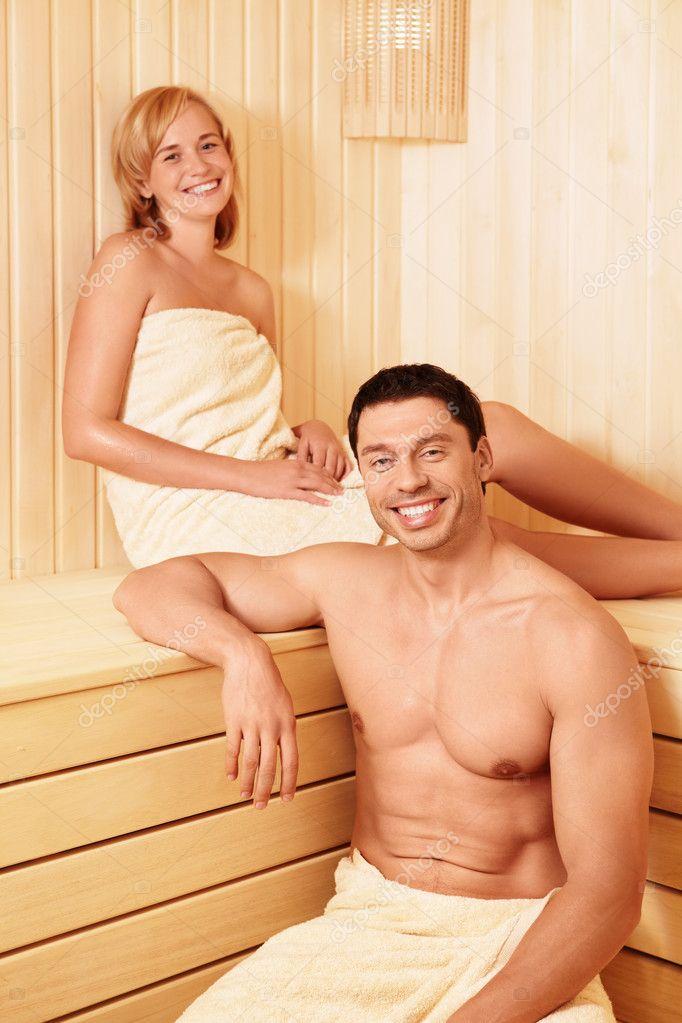 С любовником в сауне 15