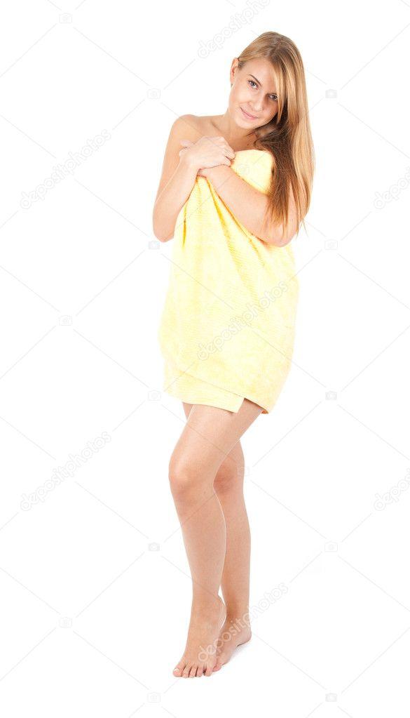 Девушка в полотенсе фото 168-599