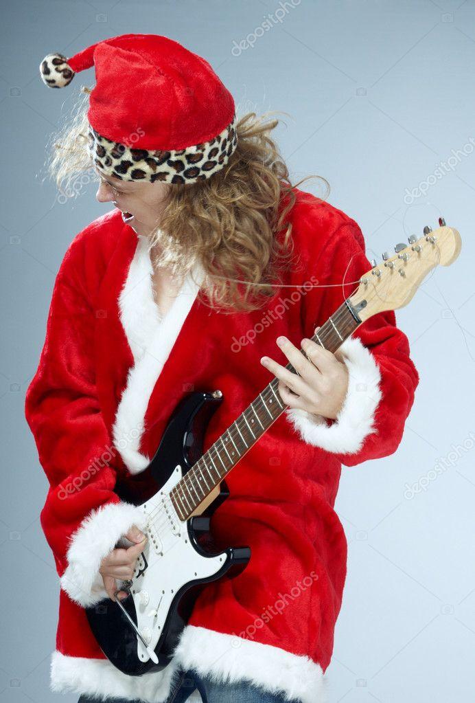 Christmas Rock n roll — Stockfoto © DepositNovic #7137307