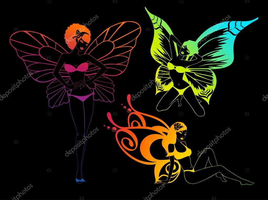 Imágenes Buscar Mariposas Bonitas Chica Bonita Con Alas De