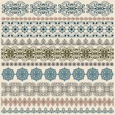 vectorten seamless vintage border pattern