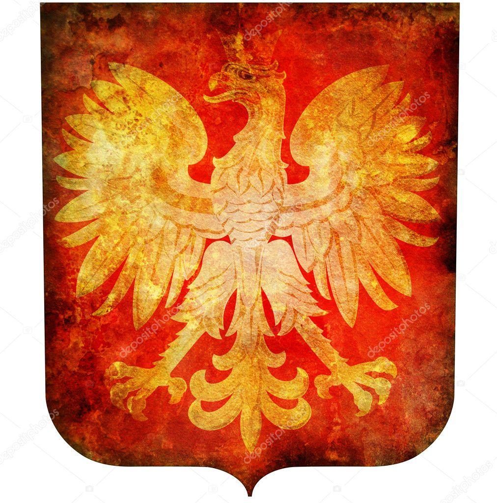 ポーランドの国章 — ストック写...