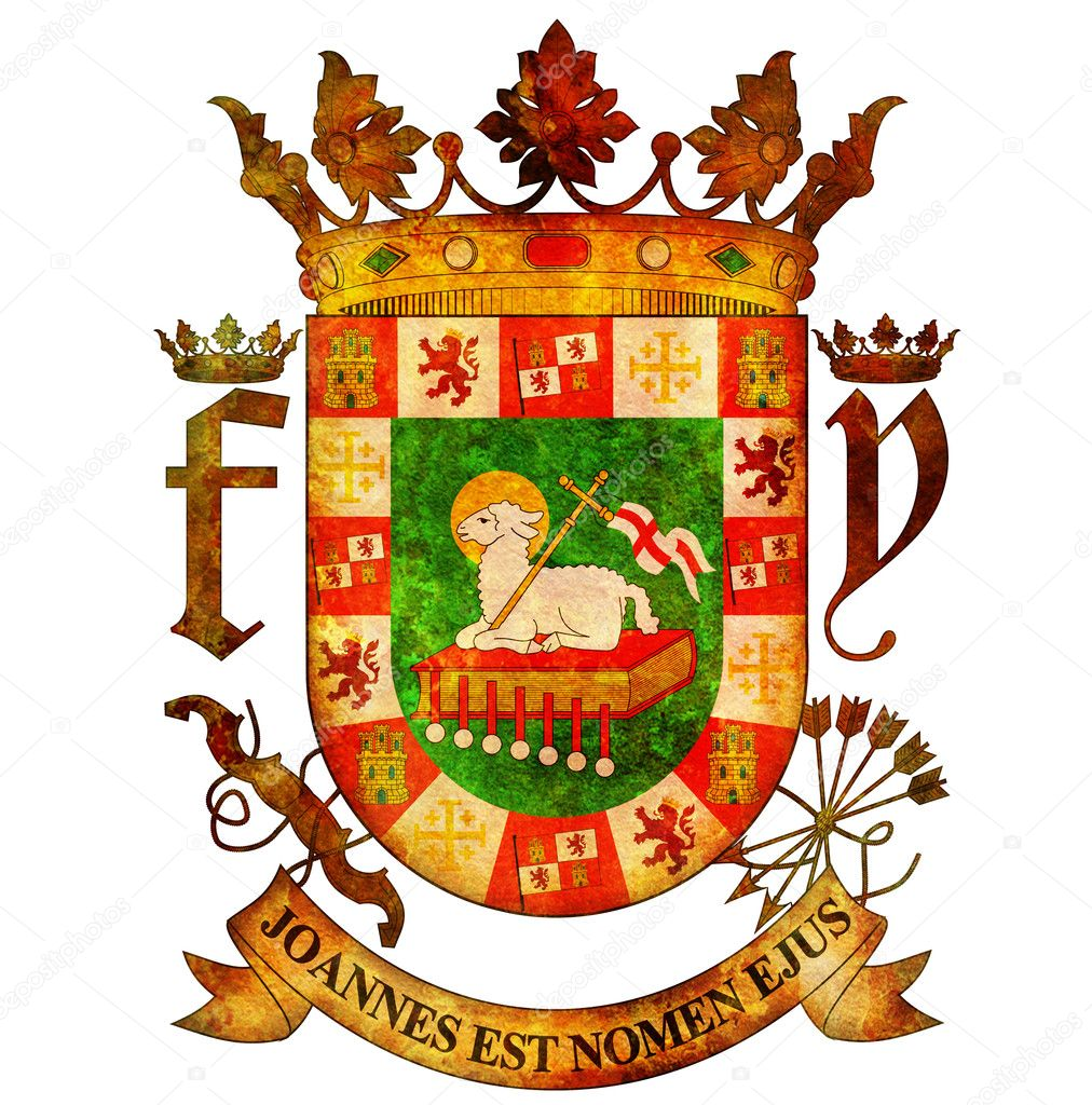 Puerto rico coat of arms stock photo michal812 7626660 puerto rico coat of arms stock photo biocorpaavc Choice Image