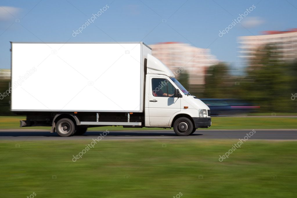 Space for advertisement on truck