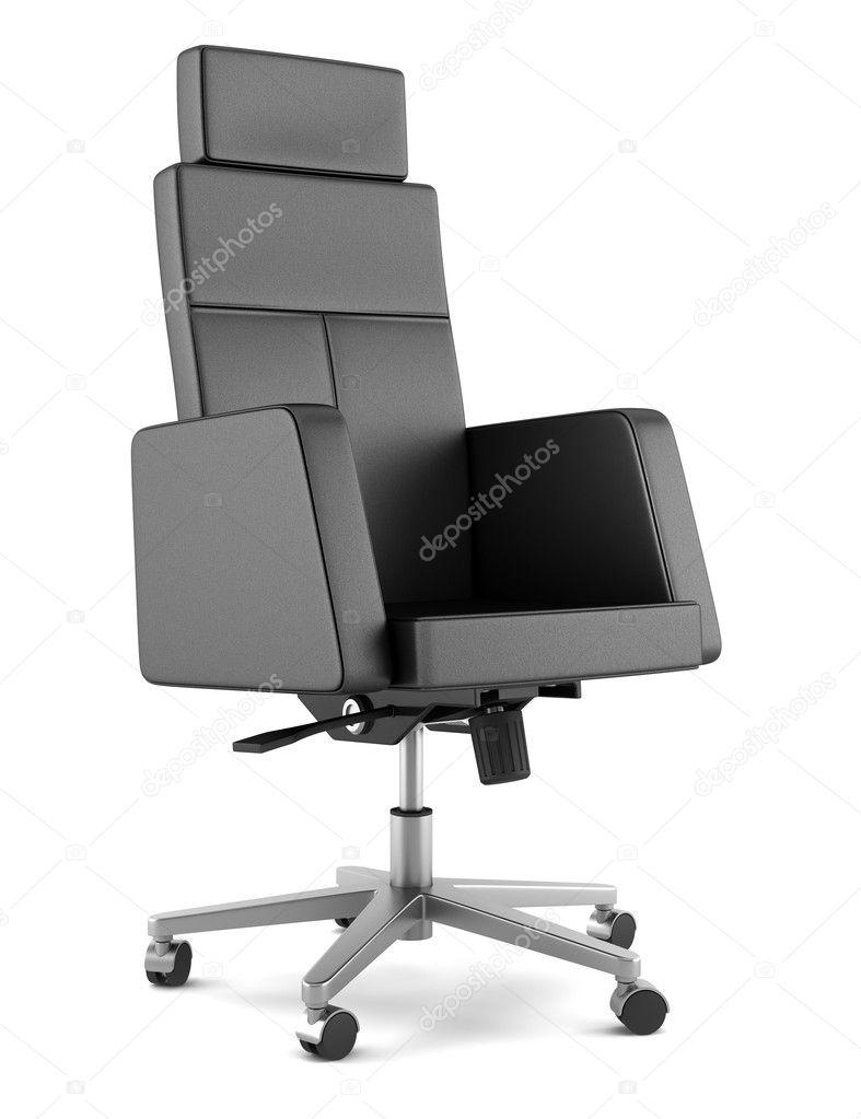 Moderne Bürostühle moderne bürostuhl schwarz isoliert auf weißem hintergrund