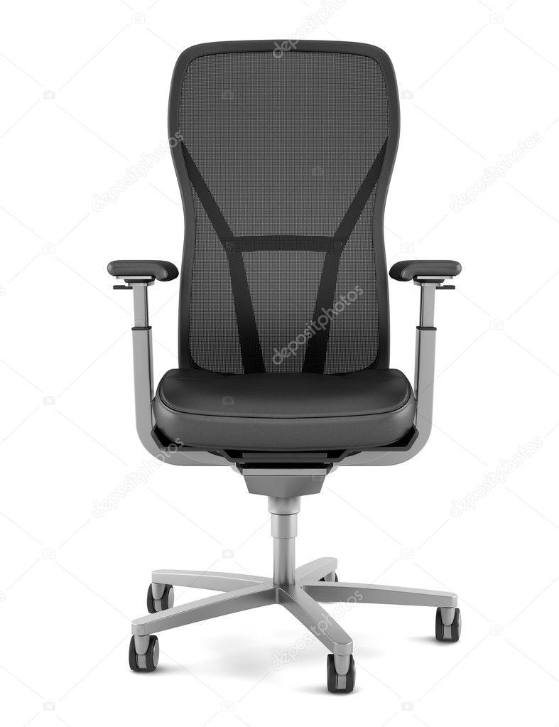 Bürostuhl Modern moderne bürostuhl schwarz isoliert auf weißem hintergrund
