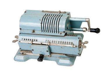Retro mechanical adding machine