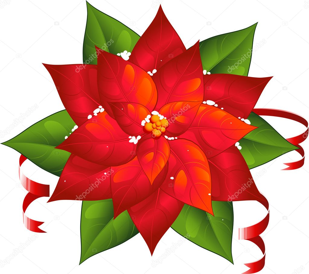 Weihnachtsstern — Stockvektor © jara3000 #7557672