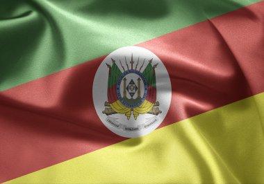 Flag of Brazil (Rio Grande do Sul)