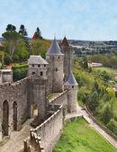 città fortificata di Carcassonne, il