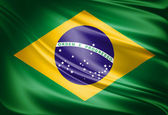 Fotografie Flag of Brazil