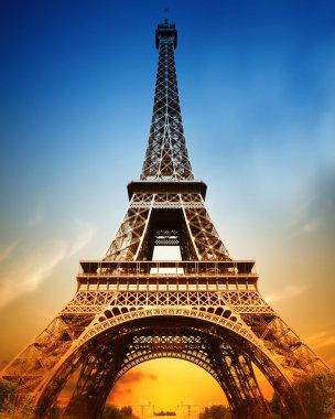 "Картина, постер, плакат, фотообои ""величественная эйфелева башня "", артикул 7597671"