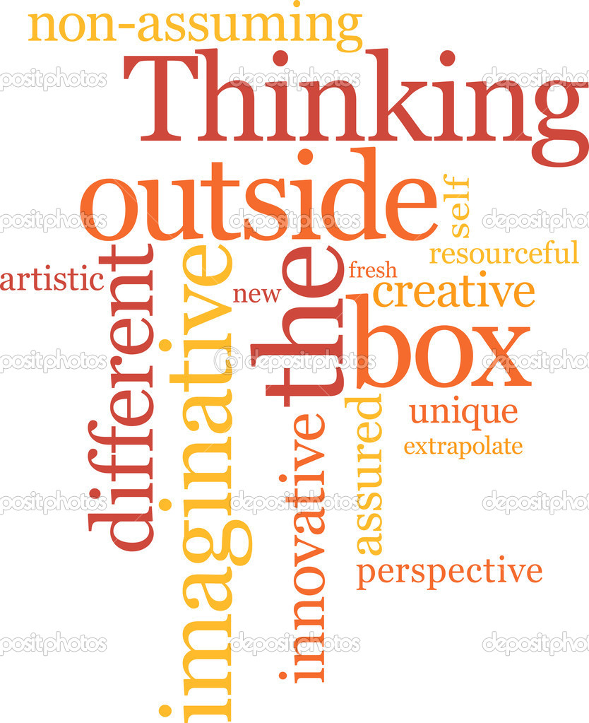 essay thinking outside the box Thinking outside the box: magic of mind essay sample introduction while some problems pose as impossible to solve, way to their solutions lie in creative thinking instead of 'critical thinking'.