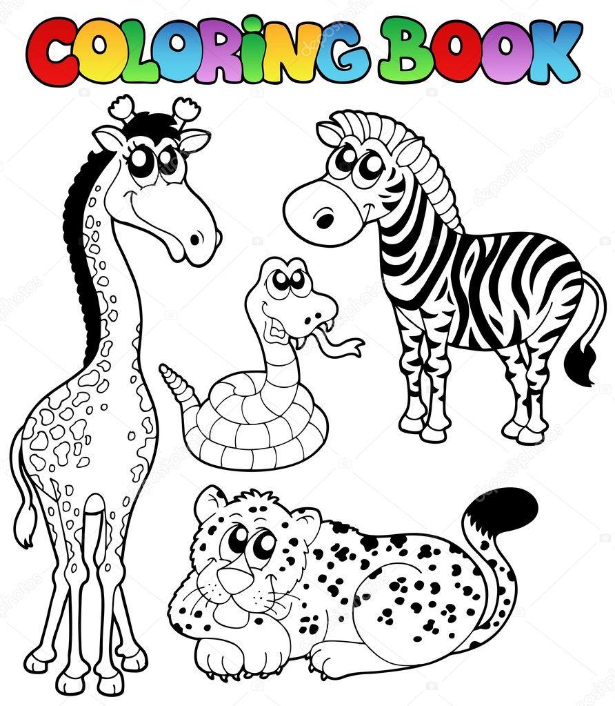 Disegni Da Colorare Animali Tropicali Migliori Pagine Da Colorare