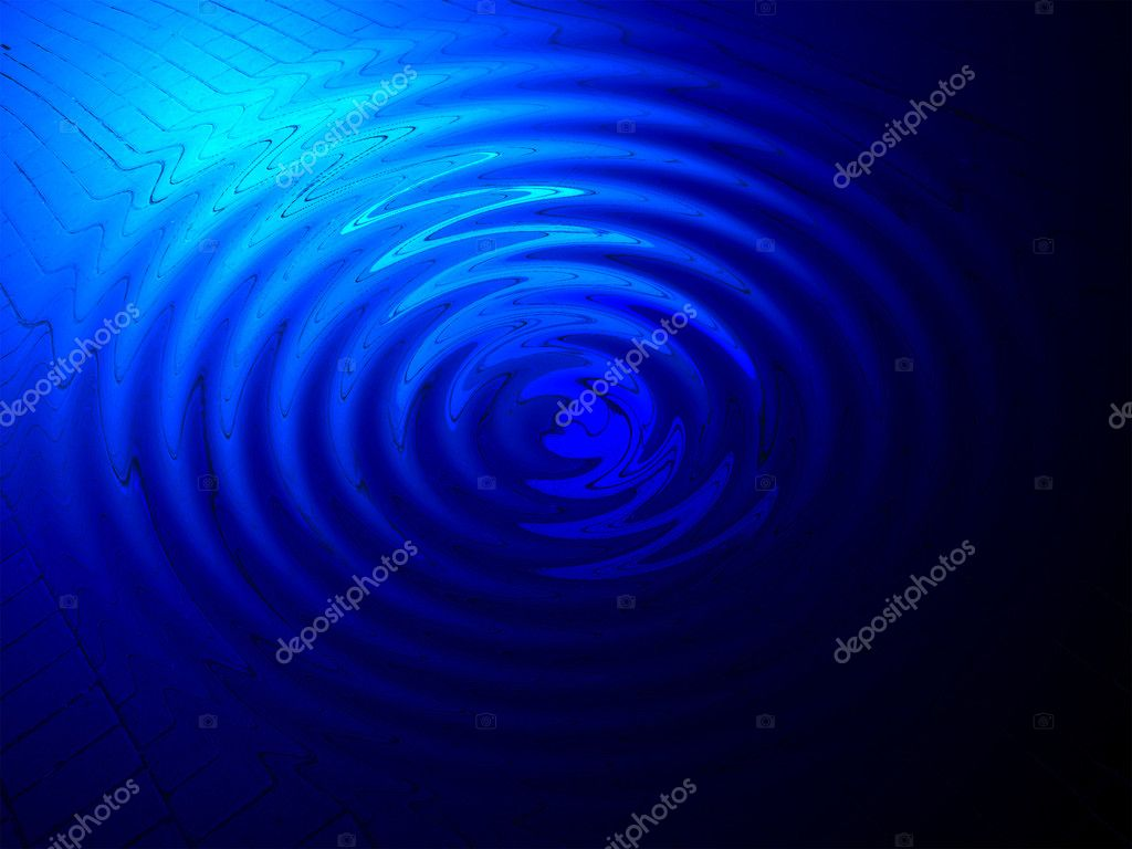 abstracte blauwe macht verlichting, spirituele concept — Stockfoto ...