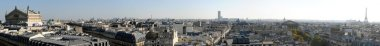 Panoramic view of Paris in high definition - France
