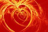 égő szívek