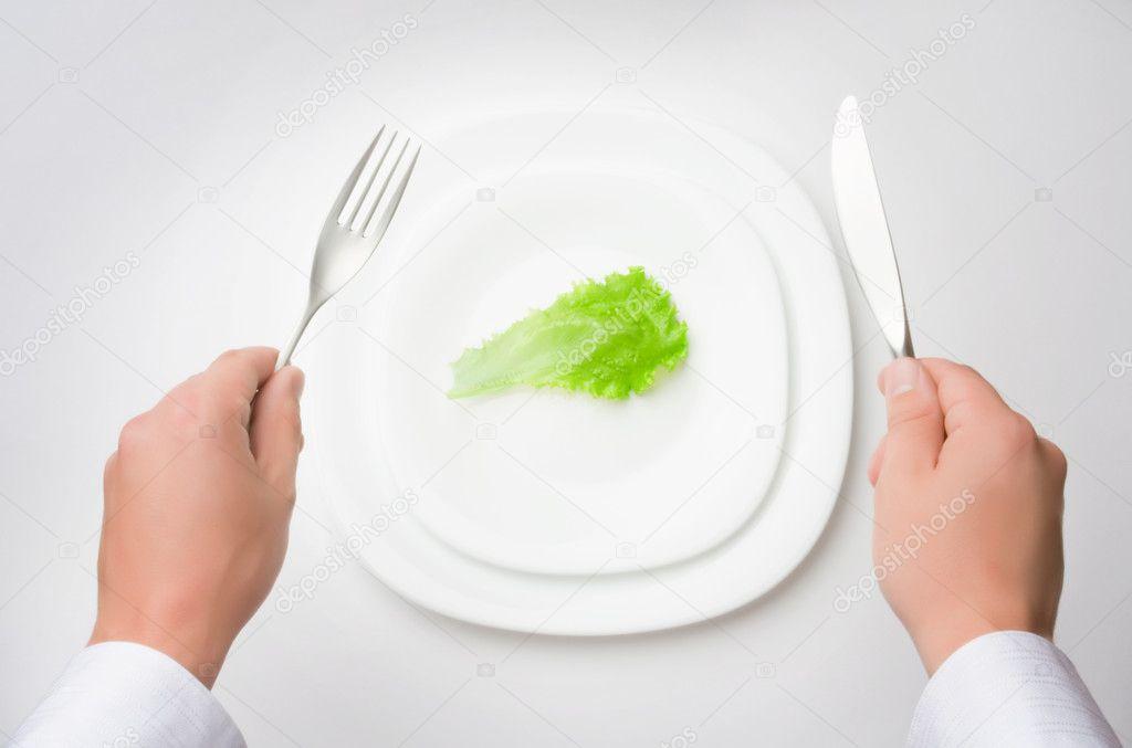 Eat less!